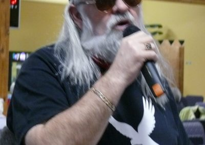 Ronnie Hawkins Performs Opening Night
